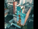 Сан-Паулу - одна из мировых столиц граффити.