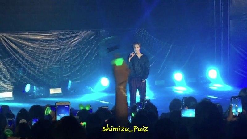 "180407 KIM HYUN JOONG WORLD TOUR ""HAZE"" in BKK @ Scala Theater Part 1"