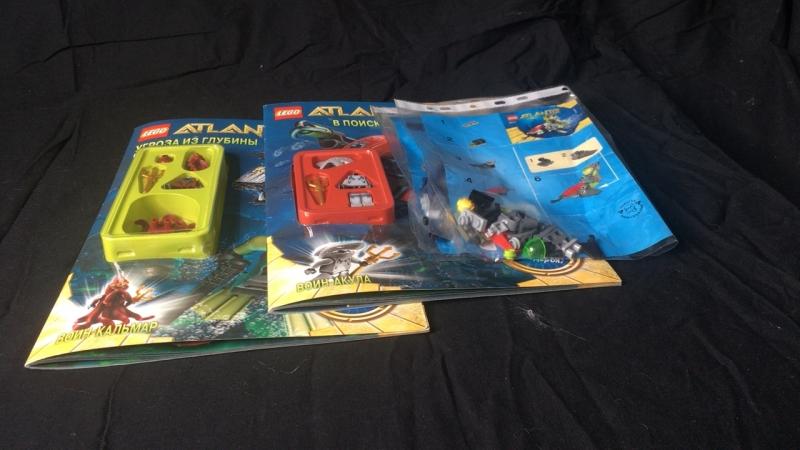 Распаковка LEGO Atlantis