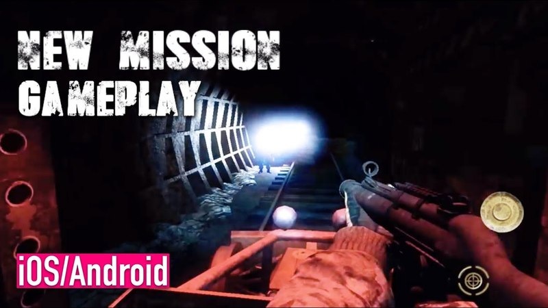 Z.O.N.A Shadow of Lemansk - iOS Android - UNDEGROUND TUBE MISSION GAMEPLAY