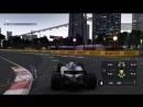 F1 2017 8 сезон 14 этап Сингапур. Свободная практика 2