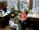 Городской конкурс Зимова крихітка. Самая маленькая участница ГЦВР. ДЮК Чайка