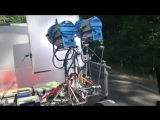 Process Trailer-Insert Car for an HBO project last summer with Tim Robbins enjoying a drive in the woods near Portland, Oregon.