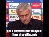 Jose Mourinho was not impressed with this question about Alexis Sanchez