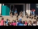 Представление для детей и выступление спецназа вч 3042 в Энергодаре на день защиты детей