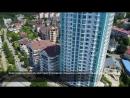 Обзор с высоты ЖК Белый Дворец SOCHI-ЮДВ |Квартиры в Сочи |Отдых Сочи
