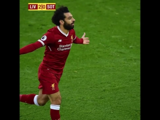 «Mohamed Salah with a touch of genius!» ?