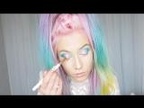glitter make up by @amythemermaidx
