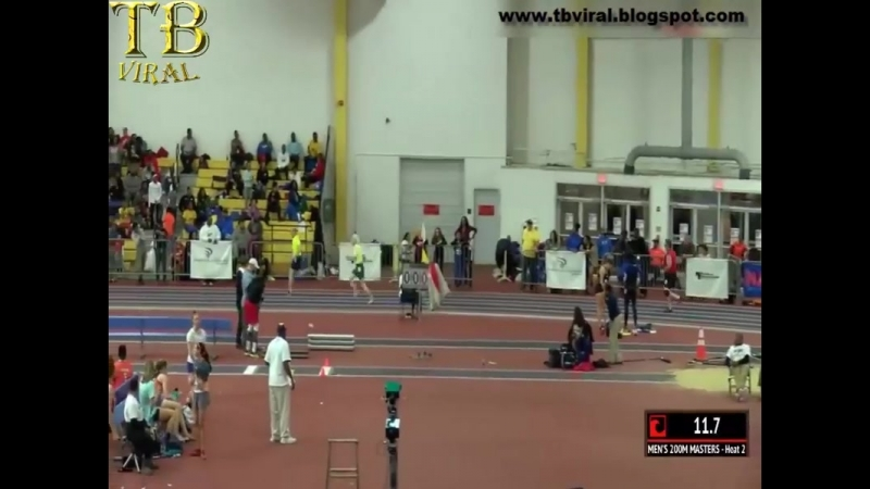 Burners 76 Year Old Man Was Movin In The 200M With No Shoes On Video