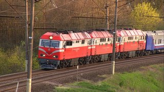 ТЭП70БС-004, ТЭП70-0235 и ТЭП70-0347 / TEP70BS-004, TEP70-0235 and TEP70-0347