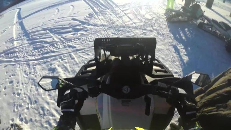 Дрифт на квадроцикле в Якутии