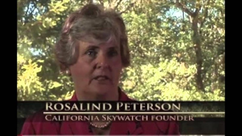 Rosalind Peterson No Evidence for Chemtrails