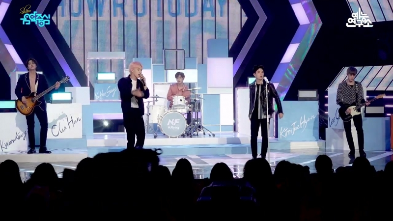 180519 N.Flying HOW R U TODAY @ Show Music core