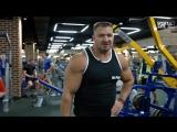 Тренировка мышц спины. Сергей Зебальд