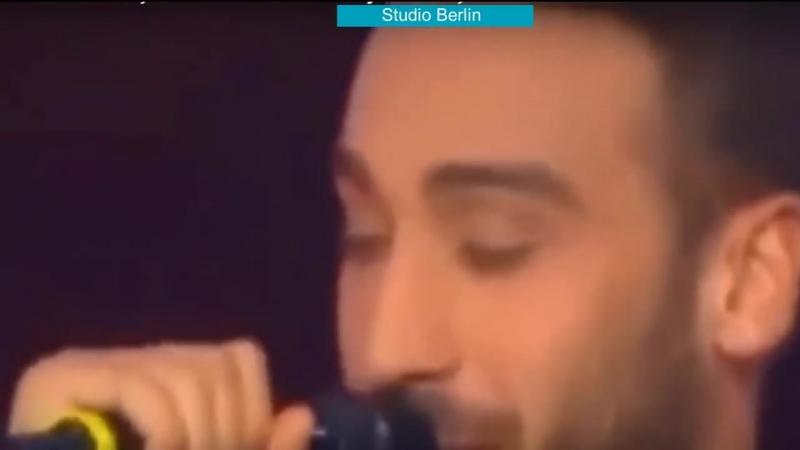 Дженк Тосун спел в передаче Голос в Турции (The Voice)
