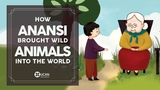 Learn English Listening English Stories - 32. How Anansi brought wild animals into The World
