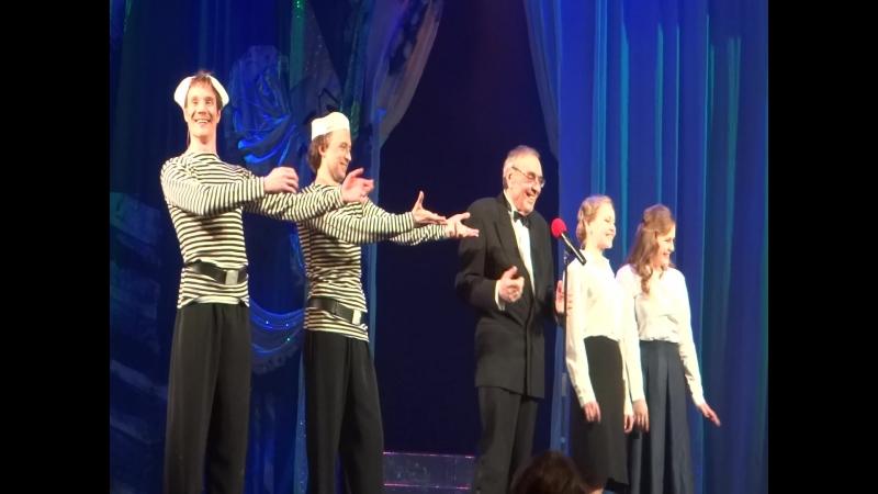 Ежегодное поздравление юбиляров в театре Комедии им Акимова