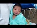 Малышка выжила после 8 часов в могиле