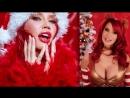 Bianca Beauchamp christmas 2012 erotic эротика fetish latex фетиш playboy model модель milf big boobs pussy