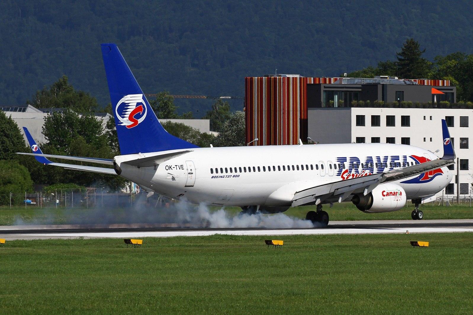 Самолет, участвовавший в инциденте