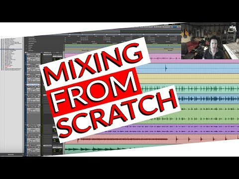 Mixing a song from Scratch (Hurricane by Katey Laurel)- Warren Huart: Produce Like A Pro