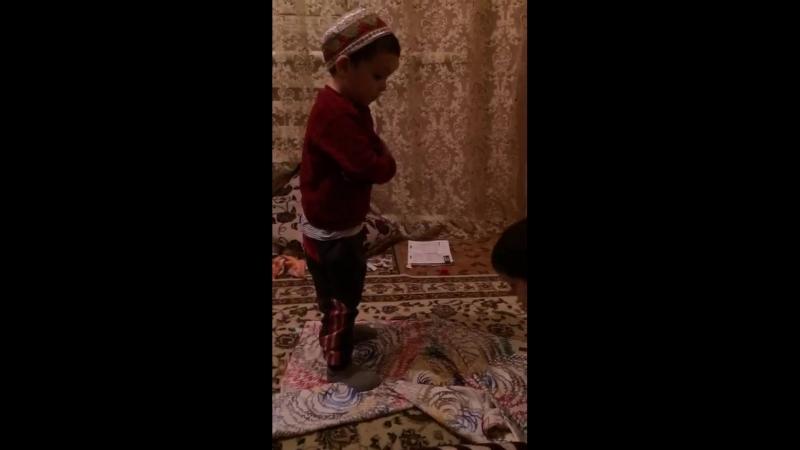 Аллаху акбар...бац