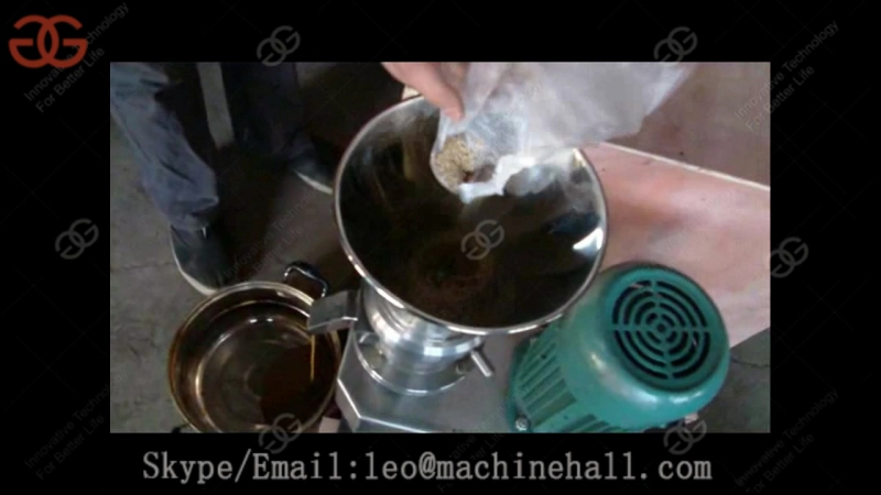 Best Commercial Sesame Tahini Making Machine Test Video