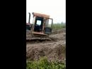 Засадили трактор по самые помидоры