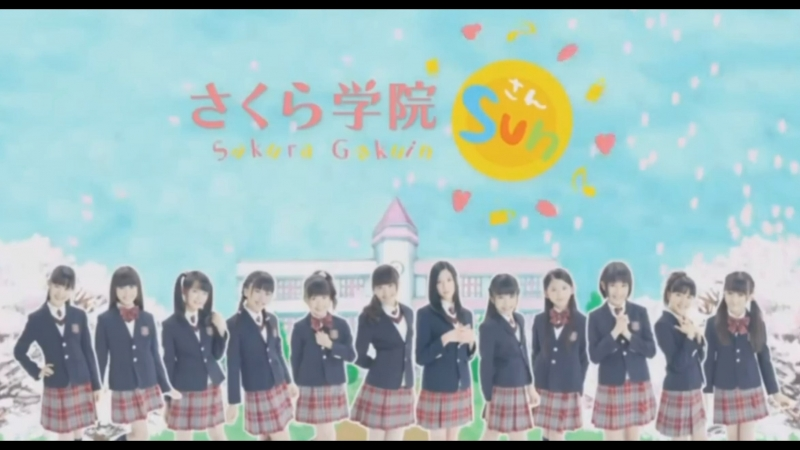 Sakura Gakuin SUN Episode 12 part1 ENG SUB