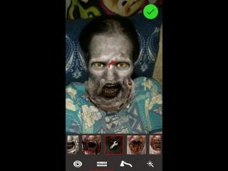 Д Вот как я буду выглядеть, когда стану зомбаком