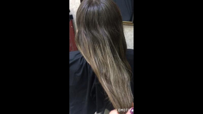 Мелирование волос Матрикс