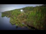 Жемчужина нижегородского березополья - Дудин монастырь - с высоты пчелиного полета