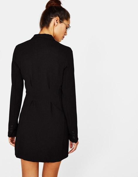 Двубортный блейзер-платье