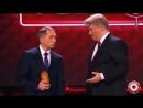 Двойник Путина и Трамп (Харламов) играют в Крокодила Камеди клаб 2017