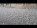 Tempesta di Grandine intensa a Feltre, in Italia ¦ 12 06 2018