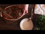 Вегетарианская лазанья  Вегетарианские рецепты