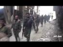 Национальная оборона смогла освободить несколько пунктов от террористов Daesh на оси улицы эд Дабуль в районе ат Тадамон