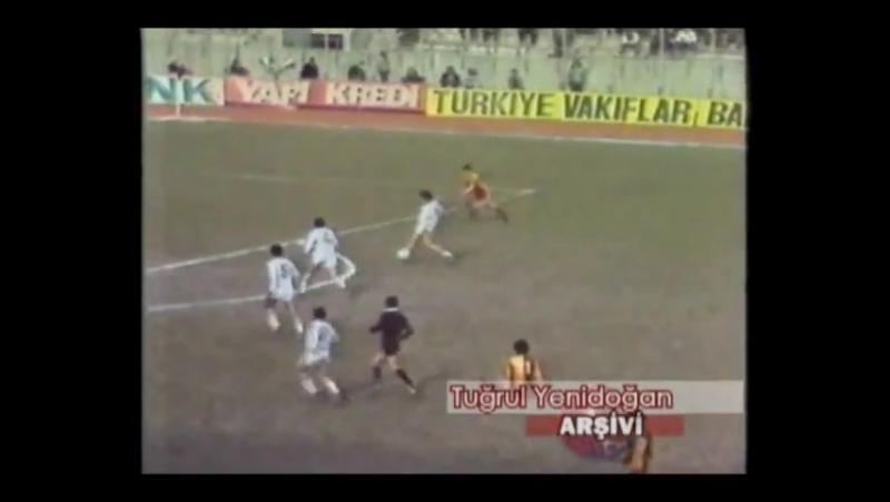 Federasyon Kupası - 1984 - 1985 Sezonu - Yarı Final-1 TUR- Galatasaray 0 - 0 Beşiktaş