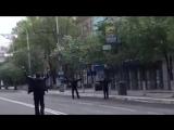 Мариуполь. 9 мая, 2014. Начало карательной операции нацгвардии в центре Мариупол