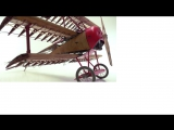 Red Barons famous triplane Fokker Dr. I_ 750 pieces in motion