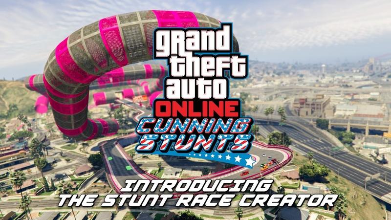 GTA Online: Stunt Race Creator Trailer