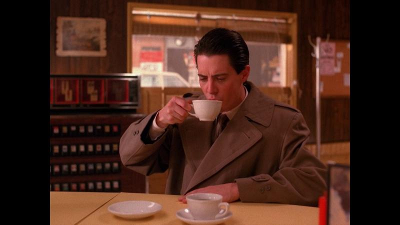 Twin peaks |1х07| что может быть лучше чашки черного кофе