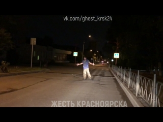 По ул. Юшкова в 1:00 ночи 30.07.2018