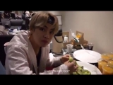 taehyung we shared it before he ate the whole of melon - - i feel sorry for namjoon