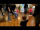 Первые парные танцы