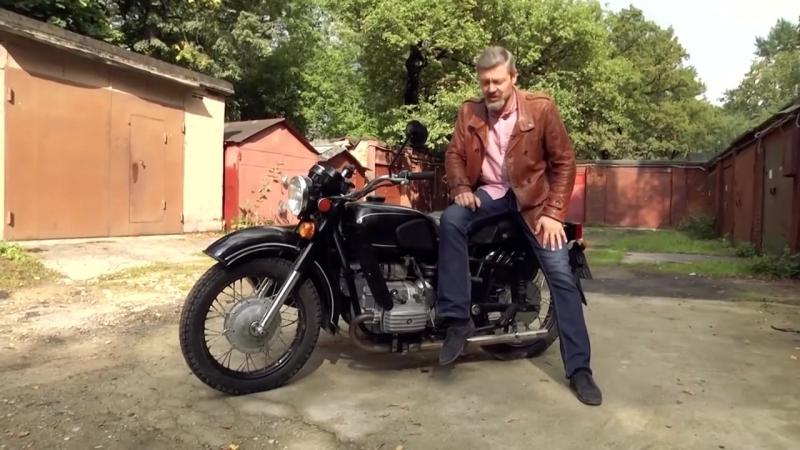 Днепр МТ-11 - Советский тяжелый мотоцикл с коляской