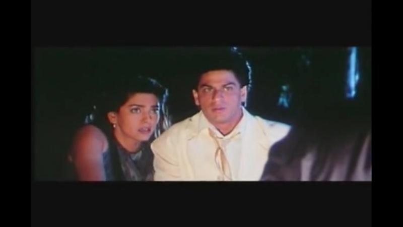 Трепетные сердца. Индийский фильм. 2000 год. В ролях: Шахрукх Кхан. Джухи Чавла.