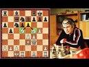 Absolutely Insane Mikhail Tal Sacrifices His Whole Cavalry