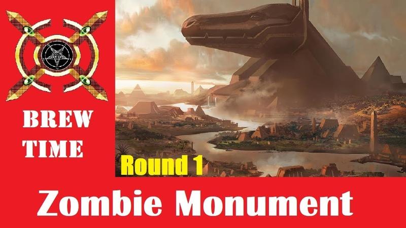 BREW TIME Zombie Monument Modern Deck Tech Round 1 vs UW Control