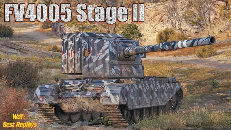 FV4005 Stage II Бой - Бомба * Без Спойлеров , Карелия